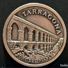 Trofeos y medallas: MEDALLA TARRAGONA PONT DEL DIABLE BADIA 2001. Lote 102621115