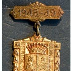 Trofeos y medallas: ANTIGUA MEDALLA AL MERITO ESCOLAR BARCELONA 1948 - 1949 COLEGIO LA SALLE LA BONANOVA. Lote 71065845