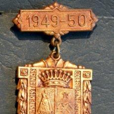 Trofeos y medallas: ANTIGUA MEDALLA AL MERITO ESCOLAR BARCELONA 1949 - 1950 COLEGIO LA SALLE LA BONANOVA. Lote 71065957