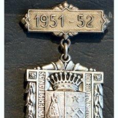 Trofeos y medallas: ANTIGUA MEDALLA AL MERITO ESCOLAR BARCELONA 1951 - 1952 COLEGIO LA SALLE LA BONANOVA. Lote 71066121