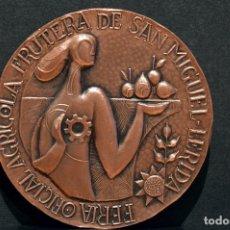 Trofeos y medallas: MEDALLA LERIDA FERIA DE SAN MIGUEL 1964 LLEIDA. Lote 78382289