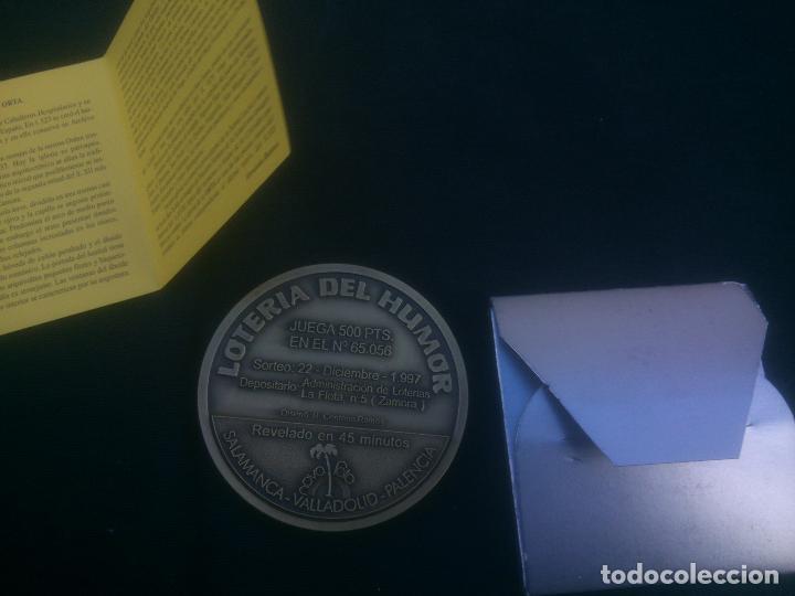 Trofeos y medallas: Lotería del Humor de IGLESIA STA MARIA DE LA ORTA (Zamora) - Foto 2 - 118649712