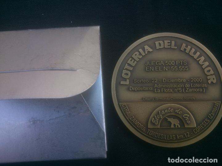 Trofeos y medallas: Lotería del Humor de SAN CIPRIANO (Zamora) - Foto 2 - 117220235