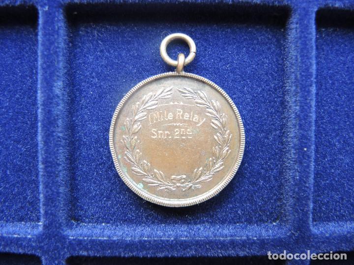 Trofeos y medallas: MEDALLA TROFEO CARRERA 1 MILLA RELEVOS, 1929 - Foto 2 - 117956303