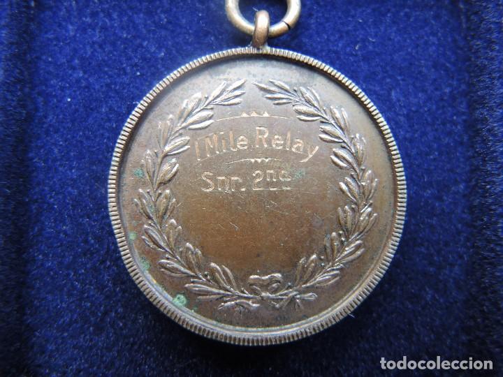 Trofeos y medallas: MEDALLA TROFEO CARRERA 1 MILLA RELEVOS, 1929 - Foto 4 - 117956303