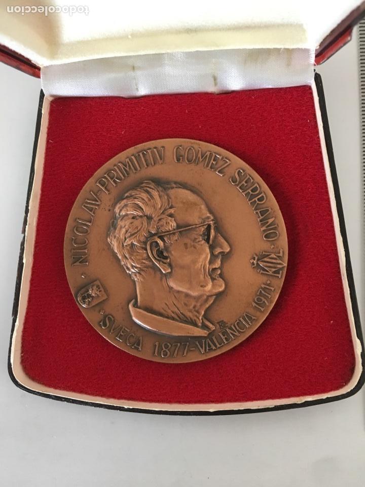 MEDALLA CONMEMORATIVA. NICOLAU PRIMITIU GÓMEZ SERRANO. SUECA 1877 VALENCIA 1971 (Numismática - Medallería - Trofeos y Conmemorativas)