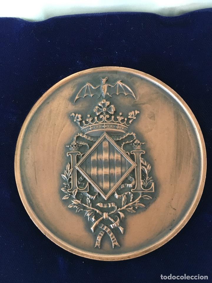 MEDALLA ESCUDO OFICIAL DE LA CIUDAD / EXCMO. AYUNTAMIENTO DE VALENCIA. (Numismática - Medallería - Trofeos y Conmemorativas)