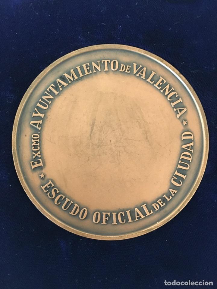 Trofeos y medallas: MEDALLA ESCUDO OFICIAL DE LA CIUDAD / EXCMO. AYUNTAMIENTO DE VALENCIA. - Foto 2 - 118071244