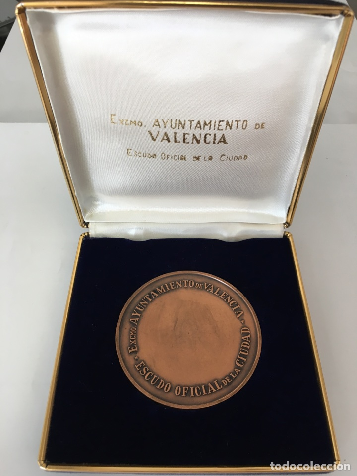 Trofeos y medallas: MEDALLA ESCUDO OFICIAL DE LA CIUDAD / EXCMO. AYUNTAMIENTO DE VALENCIA. - Foto 3 - 118071244