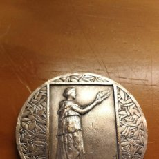 Trofeos y medallas: COMITE FIESTAS, CONCURSO Y EXHIBICIONES CASABLANCA,COLONIA FRANCESA AÑO 1.927.. Lote 118434743