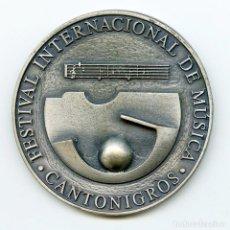 Trofeos y medallas: MEDALLA CONMEMORATIVA 25 ANIVERSARIO DEL FESTIVAL INTERNACIONAL DE MÚSICA DE CANTONIGRÓS 1983-2007. Lote 118746375