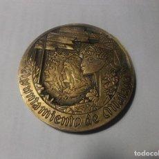 Trofeos y medallas: AYUNTAMIENTO DE MALAGA - V CENTENARIO DE LA INCORPORACION...1987. Lote 119911663