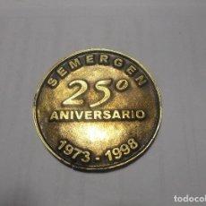 Trofeos y medallas: MEDALLA CONMEMORATIVA SEMERGEN 25 ANIVERSARIO.1998. . Lote 119912863