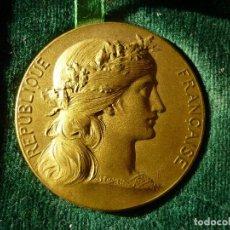Trofeos y medallas: MEDALLA FRANCESA DE REGATAS A VELA EN BAYONNE 1903. Lote 120582579