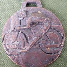 Trofeos y medallas: MEDALLA DE BRONCE. FEDERACION CICLISTA DE CATALUÑA. 1980. . Lote 122761851