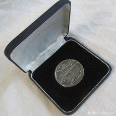 Trofeos y medallas: MEDALLA DE PLATA EMPRESA GAL 25 AÑOS DE SERVICIO 1977 ESTUCHE ORIGINAL. Lote 123058707