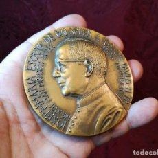 Trofeos y medallas: GRAN MEDALLA BRONCE MONSEÑOR JOSE MARIA ESCRIVA DE BALAGUER - FUNDADOR DEL OPUS DEI-LORIOLI VEROI. Lote 123315187