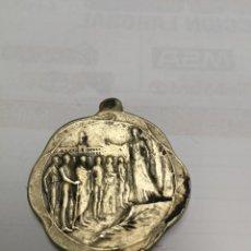 Trofeos y medallas: MONEDA MEDALLA TANDIL ARGENTINA CONMEMORATIVA DEL PRIMER CENTENARIO REVOLUCION DE MAYO 1810 1910 . Lote 145024793