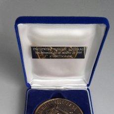 Trofeos y medallas: ESPECTACULAR MEDALLA HÍPICA EN SU ESTUCHE ORIGINAL. FVH.. Lote 123824642