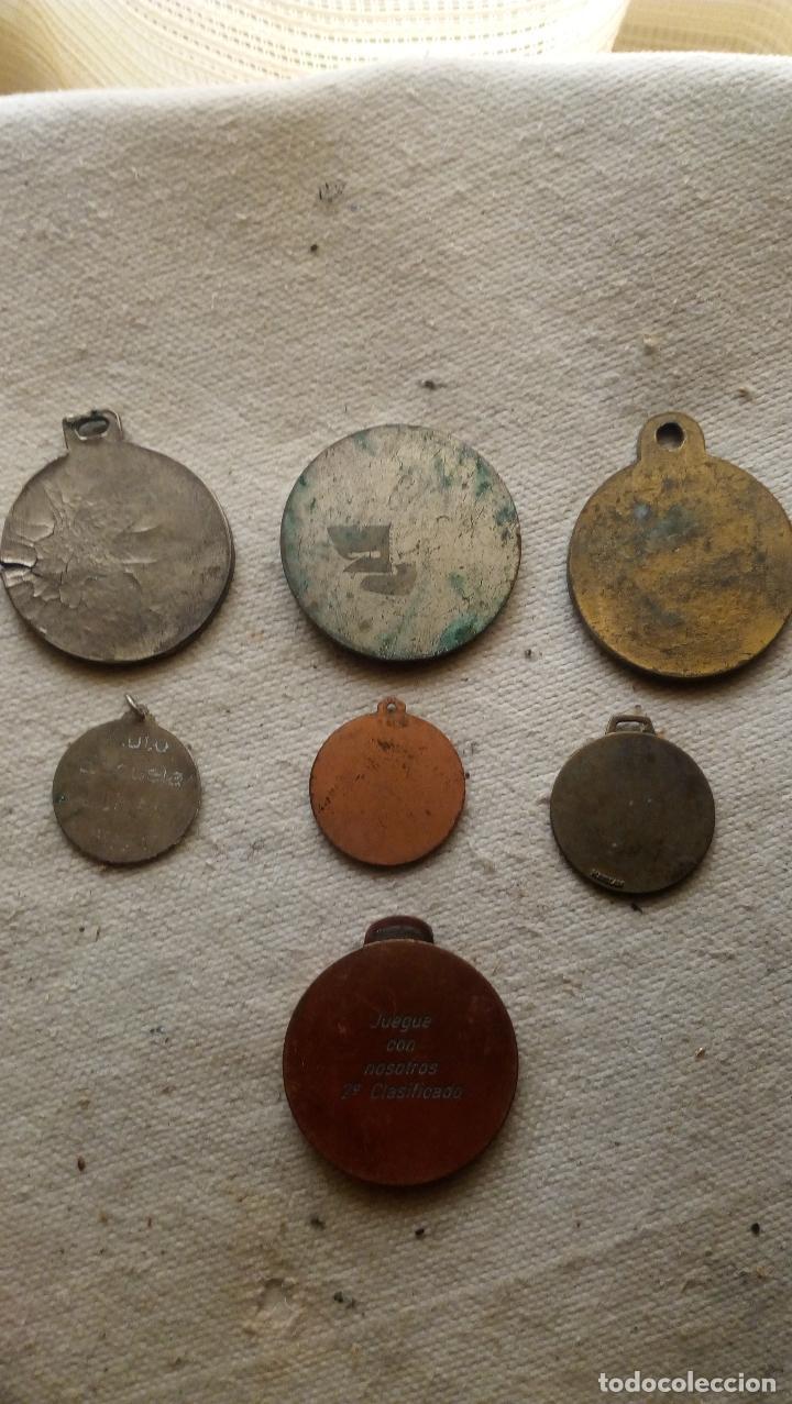 Trofeos y medallas: 7 MEDALLAS DISTINTOS TEMAS, TAMAÑO Y METAL - Foto 3 - 124624915
