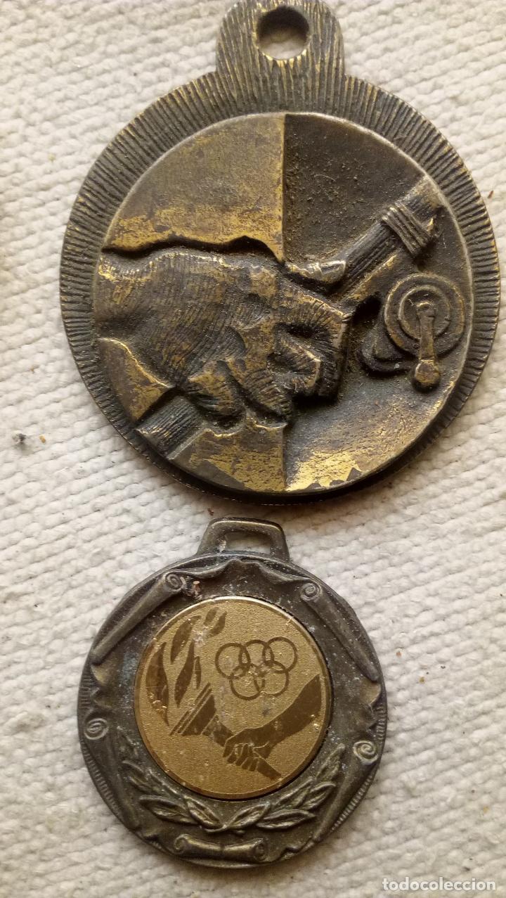 Trofeos y medallas: 7 MEDALLAS DISTINTOS TEMAS, TAMAÑO Y METAL - Foto 7 - 124624915