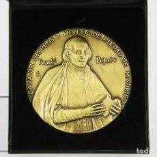 Trofeos y medallas: MEDALLA CONMEMORATIVA FNMT, FRANCISCO PIQUER. III CENTENARIO CAJA AHORROS Y MONTE PIEDAD,MADRID 2002. Lote 127639411