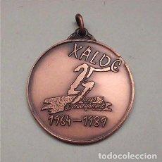 Trofeos y medallas: MEDALLA 25 ANIVERSARIO COLEGIO XALOC DE L´HOSPITALET DE LLOBREGAT - BARCELONA (1964-1989) OPUS DEI. Lote 128114939