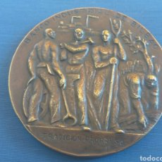 Trofeos y medallas: MEDALLON BANCO BILBAO 1857- 1964. Lote 131089477
