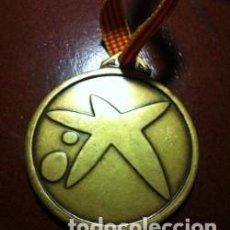 Trofeos y medallas: MEDALLA TROFEO LA CAIXA 1994 50MM DIAMETRO. Lote 131395910