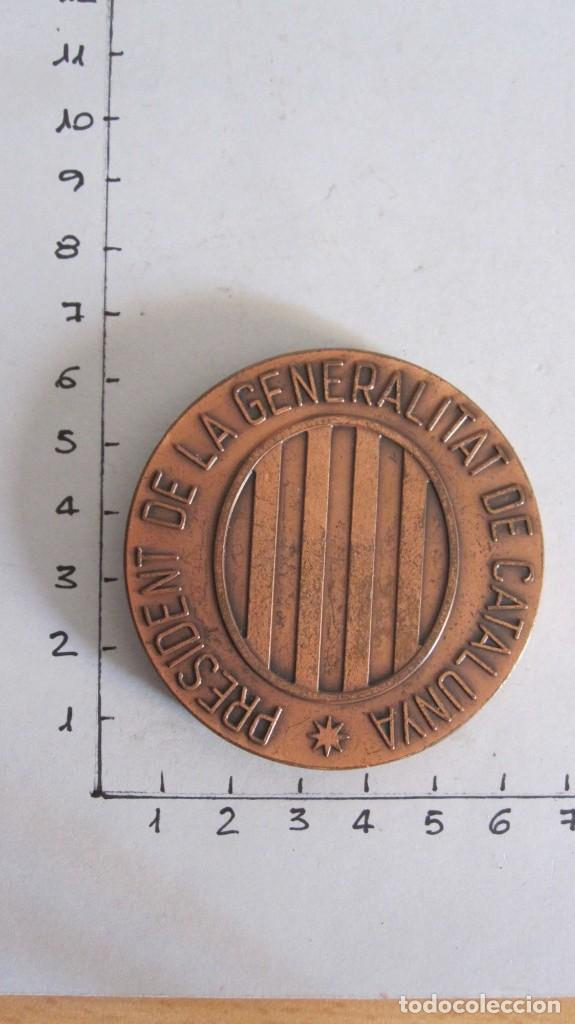 Trofeos y medallas: VIEJA MEDALLA FRANCESC MACIÀ I LLUSSA 1859-1933 - PRESIDENT GENERALITAT CATALUNYA - Foto 2 - 131695818