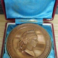 Trofeos y medallas: MEDALLA BRONCE 1881 GRABADA POR SALA CON OCASIÓN DE LA SOCIEDAD MADRILEÑA PROTECTORA DE ANIMALES. Lote 132641654