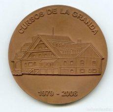 Trofeos y medallas: MEDALLA CONMEMORATIVA CURSOS DE LA GRANDA, ESCUELA ASTURIANA DE ESTUDIOS HISPÁNICOS 1979-2008. Lote 133051526