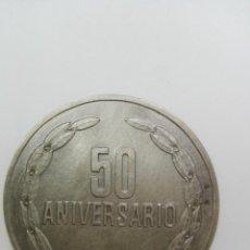 Trofeos y medallas: MEDALLA DE PLATA 50 ANIVERSARIO MUTUALIDAD DE LA PREVISION 1926-1976.. Lote 133090882