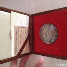 Trofeos y medallas: MEDALLA 25 ANIVERSARIO GUISVAL PLATA PURA 1987. Lote 133423486