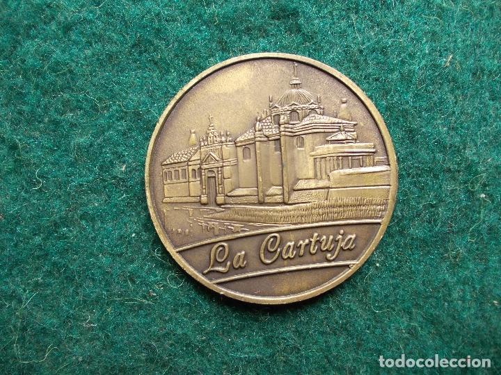 MONEDA CONMEMORATIVA EXPO 92 LA CARTUJA (Numismática - Medallería - Trofeos y Conmemorativas)