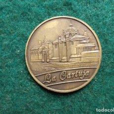 Trofeos y medallas: MONEDA CONMEMORATIVA EXPO 92 LA CARTUJA. Lote 134938318