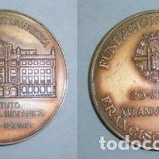 Trofei e Medaglie: MEDALLA EN BRONCE FRANCO CON HISPANOAMERICA INSTITUTO DE CULTURA HISPANICA - MEDALLA-017. Lote 135111546