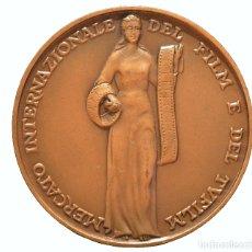 Trofeos y medallas: MEDALLA ITALIA MERCATO INTERNAZIONALE DEL FILM E DEL TVFILM 1984. Lote 71852007