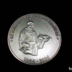 Trofeos y medallas: MEDALLÓN WORLD TOUR (IN MEMORY OF PHYLLIS DANIELS), COLECCIONISTA,CURIOSIDADES. Lote 135879078