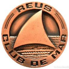 Trofeos y medallas: MEDALLA EN BRONCE CLUB DE MAR REUS 1967. Lote 62893484