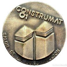Trofeos y medallas: MEDALLA BARCELONA 1981 CONSTRUMAT SALON DE LA CONTRUCCION. Lote 60276239