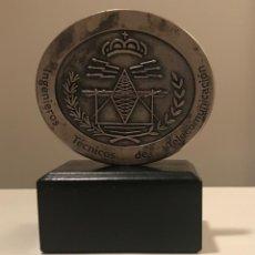 Trofeos y medallas: MEDALLA CONMEMORATIVA INGENIEROS TÉCNICOS DE COMUNICACIONES- 1697. Lote 136654562