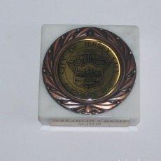Trofeos y medallas: PRESENTE HONORIFICO - MEDALLA DE LA CIUDAD DE JERSEY - CITY OF JERSEY - JERRAMIAH T. HEALY MAYOR. Lote 137130826