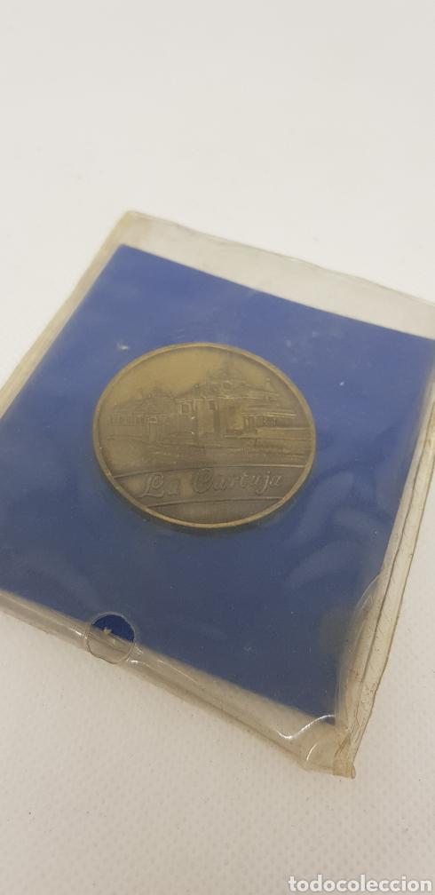 MEDALLA EXPO 92 - LA CARTUJA SEVILLA - CAR119 (Numismática - Medallería - Trofeos y Conmemorativas)