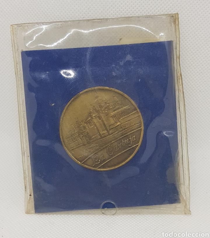 Trofeos y medallas: Medalla expo 92 - la cartuja sevilla - car119 - Foto 2 - 137356280