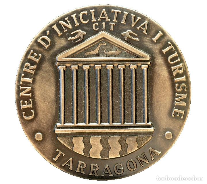 MEDALLA TARRAGONA CATALUÑA CATEGORIA PLATA CENTRE INICIATIVA I TURISME (Numismática - Medallería - Trofeos y Conmemorativas)