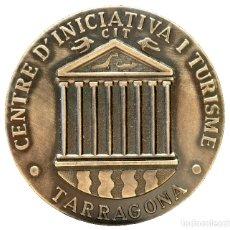 Trofeos y medallas: MEDALLA TARRAGONA CATALUÑA CATEGORIA PLATA CENTRE INICIATIVA I TURISME. Lote 116726607