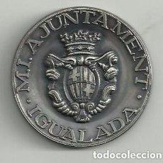 Trofeos y medallas: MEDALLA: AJUNTAMENT D' IGUALADA - XXV FIRA D'IGUALADA 1983. Lote 138568542