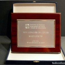 Trofeos y medallas: TROFEO CERVERA 2007 CONCURS COLLES SARDANISTES GENERALITAT DE CATALUNYA. Lote 139120594