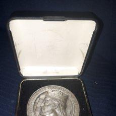 Trofeos y medallas: UNICA EN TODOCOLECCION MONEDA 50 ANIVERSARIO FUNDACION ACADEMIA ALFONSO X EL SABIO MURCIA 1991. Lote 139474038